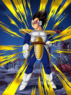 Transcended Power Level Vegeta bg