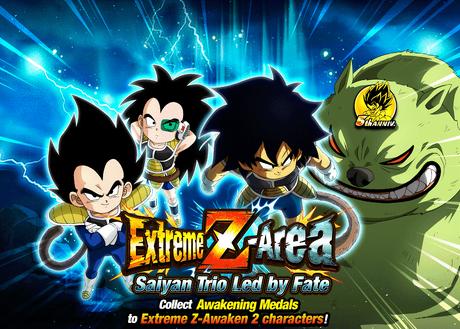 3 Saiyans Extreme Z Area