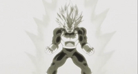 Transforming Super Vegeta