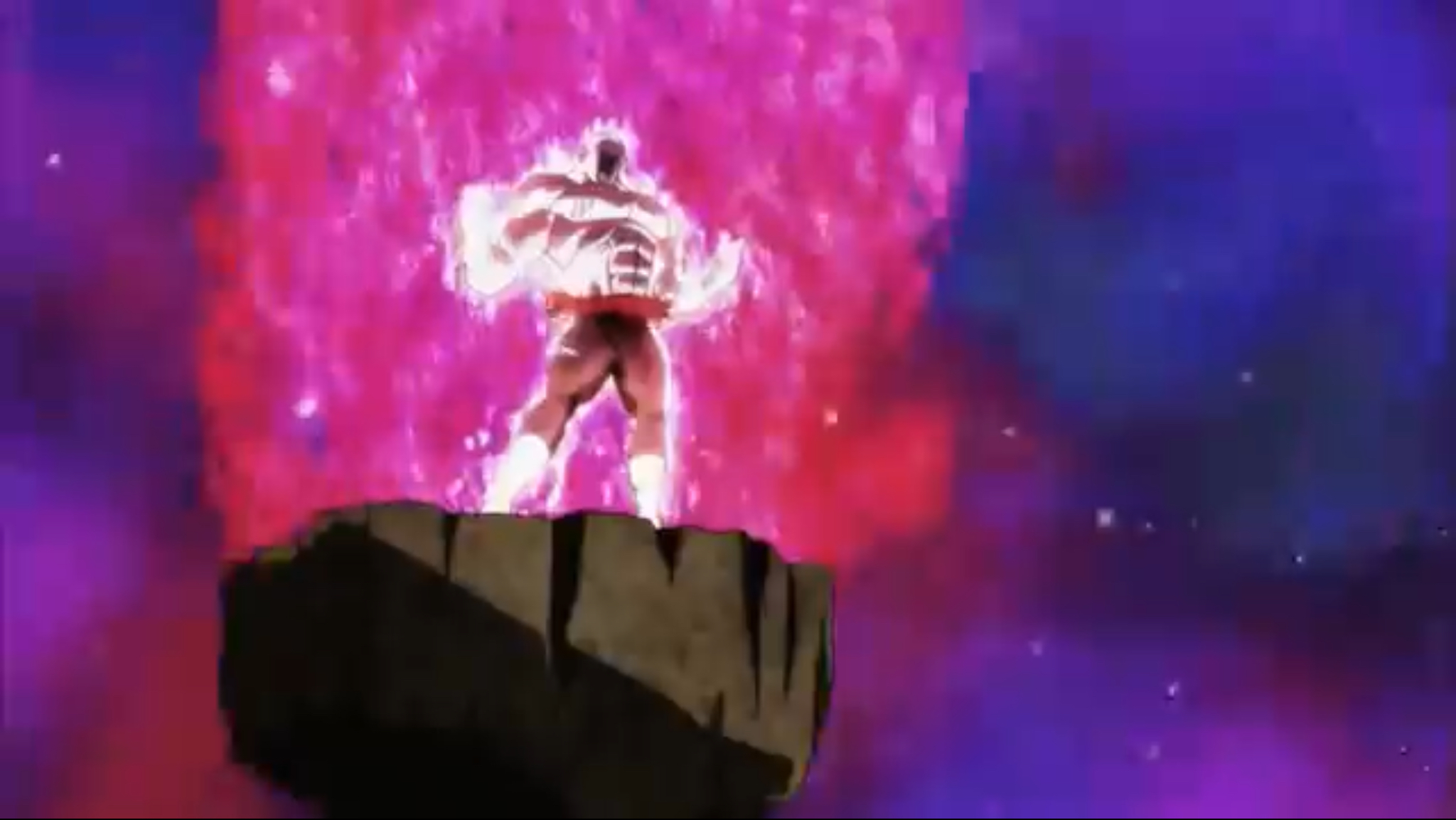 Full Power Jiren Powers Up