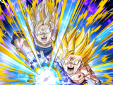 Striking in Harmony Super Saiyan 2 Gohan (Youth)