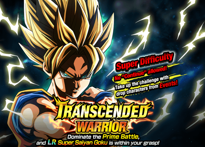 Event Transended Warrior big