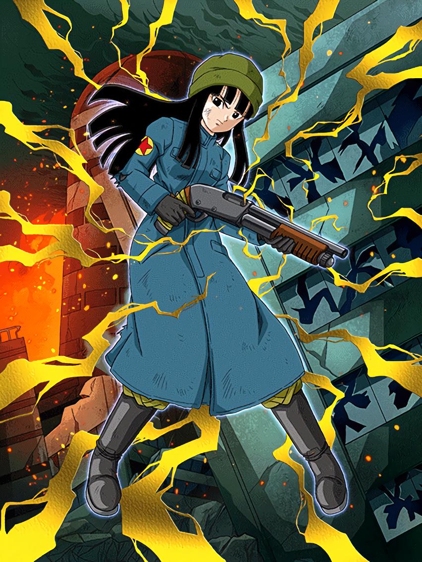 Fighting Eradication Mai Future Dragon Ball Z Dokkan