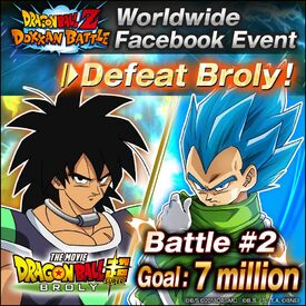 Facebook Broly Event Battle 2