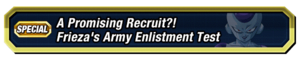 Frieza's Army Enlistment Test