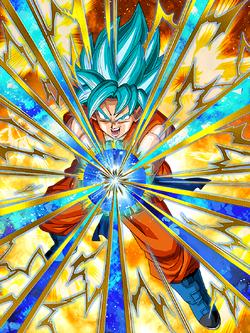 Beyond Super Saiyan God Super Saiyan God SS Goku
