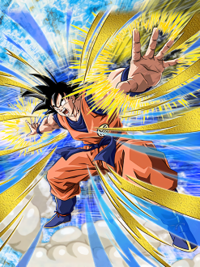 Transcended Power Level Goku (Size Updated)