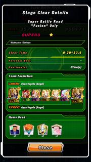 Fusion SBR complete!