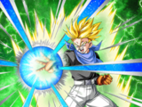 Sharp Intellect Super Saiyan Trunks (GT)