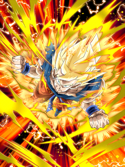Rebirth of Anger Super Saiyan Goku
