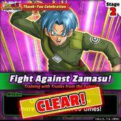 Fight Against Zamasu 2 clear