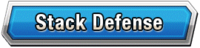 Stack Defense Skill Effect