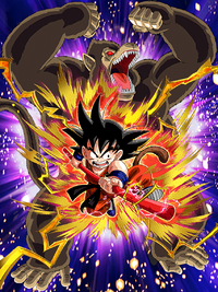 Wild Power Goku (Youth)