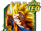 Golden Fist Super Saiyan 3 Goku
