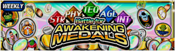 Event awakening medals all