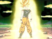 Goku ssj back turned