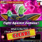 Fight Against Zamasu 3 clear