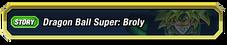 DBS Broly Story