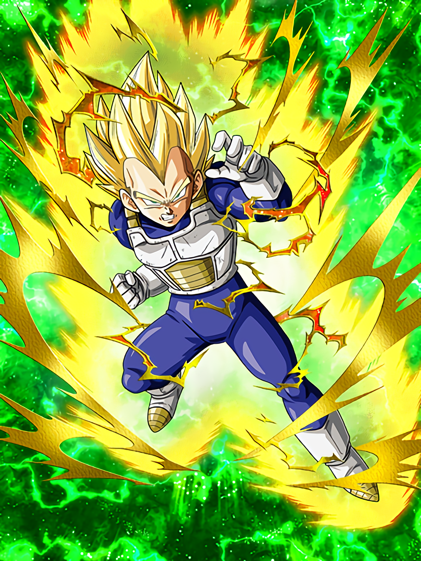 Inherited Honor Super Saiyan Vegeta Dragon Ball Z Dokkan Battle