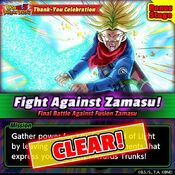 Fight Against Zamasu Bonus clear