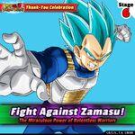 Fight Against Zamasu 6 Vegeta
