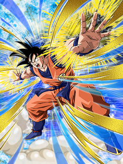 Transcended Power Level Goku