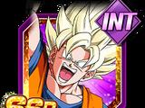 Right to a Duel Super Saiyan Goku