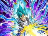 Definitive Strength Super Saiyan God SS Vegeta