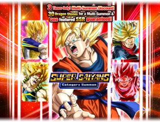 Super Saiyan Category Summon