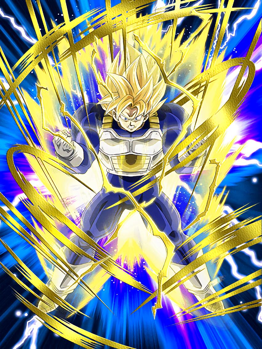 Bulging Power Super Saiyan Goku Dragon Ball Z Dokkan