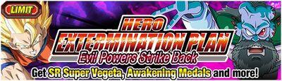 Hero Extermination Plan Evil Powers Strike Back
