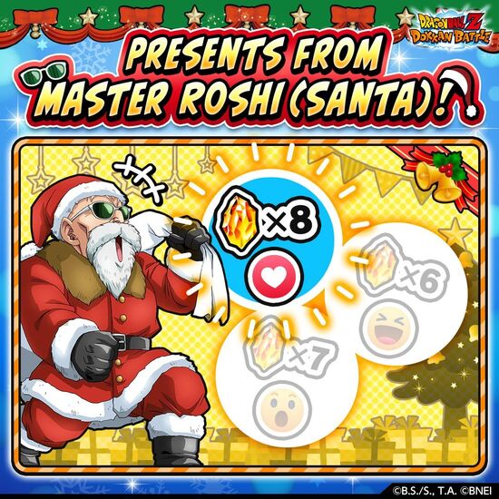 Presents from Master Roshi (result)