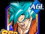 Awakening to a New Dimension Super Saiyan God SS Goku