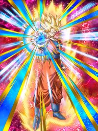 Immobile Presence Super Saiyan Goku
