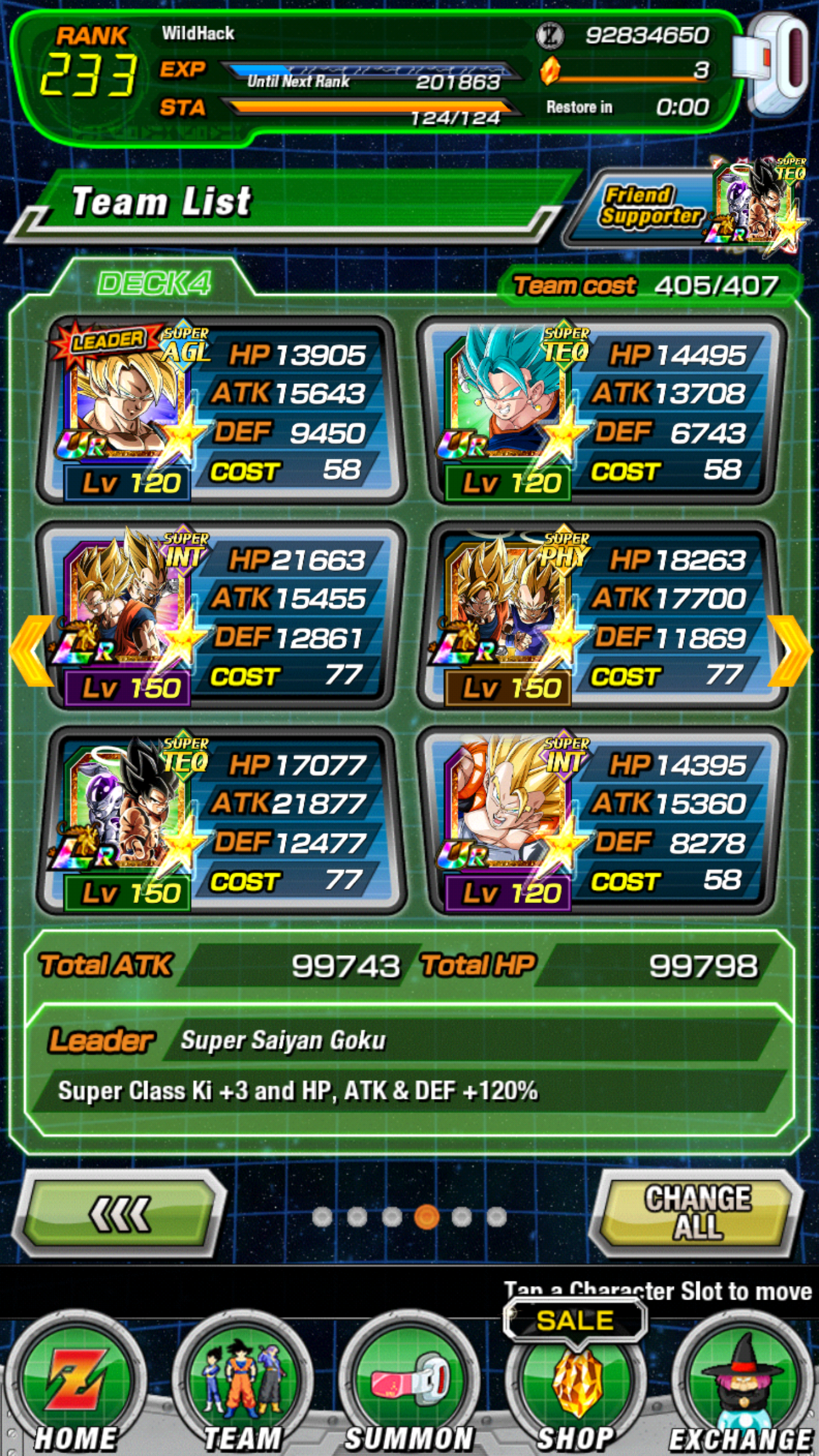Dokkan Team Builder