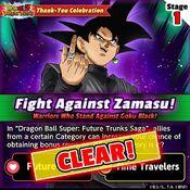 Fight Against Zamasu 1 clear