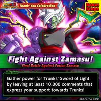 Fight Against Zamasu Bonus