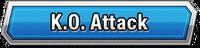 K.O. Attack Skill Effect