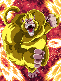 UR GT Goku SSJ3 Golden Giant Ape (Transformed) HD