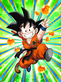 SSR Kid Goku PHY HD