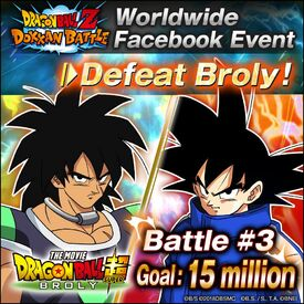 Facebook Broly Event Battle 3