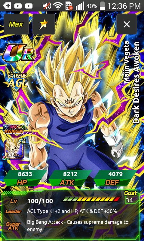 also i think that majin vegeta will be on the rising dragon carnival because of kaioken goku agl is getting a rebirth