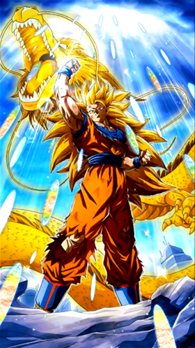 Golden Fist Super Saiyan 3 Goku Dragon Ball Z Dokkan Battle Wiki Fandom