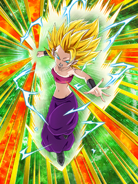 STR SSJ2Caulifla artwork