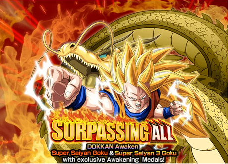 Surpassing All SSJ3 Dokkan Event