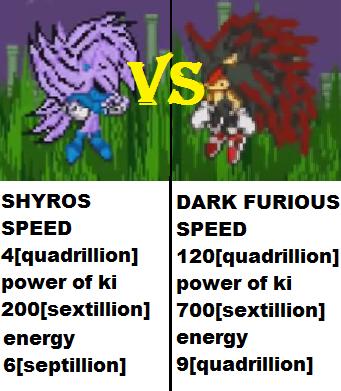 Shyros vs furious