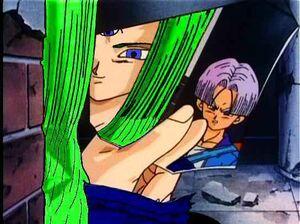 Mirai Emerald sees Trunks