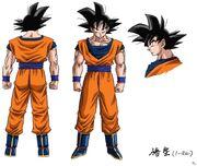 RB2 OVA new Goku