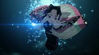 Shinobu uses Dance of the Butterflies Kimetsu no Yaiba Episode 20