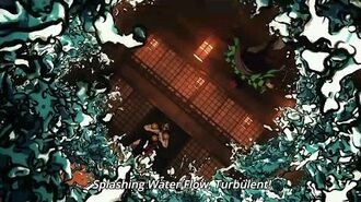 Splashing Water Flow, Turbulent! Kimetsu no Yaiba